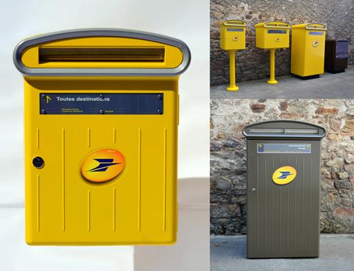 L 39 apci labellise le design de la nouvelle gamme de bo tes aux lettres de - Boite aux lettres a la poste ...
